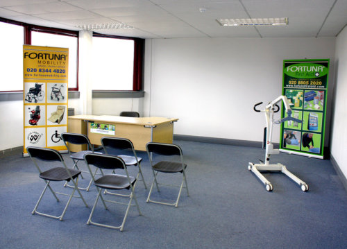 Training Room 2 with space for approximately 25 people